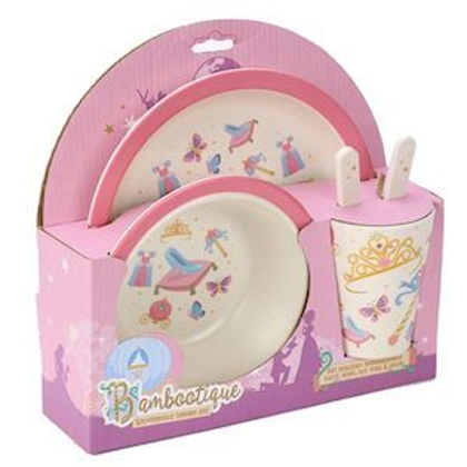 Princess Plate and Cutlery Set