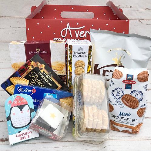 Festive Christmas Food Box Hamper