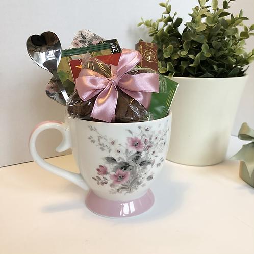 Floral Gift Mug Set