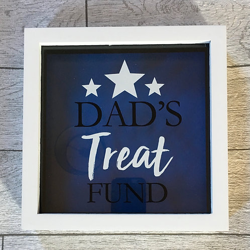 Dad's Treat Fund Saving Frame