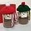 Thumbnail: Woolly Hat Snowman Hot Chocolate Mini Jars