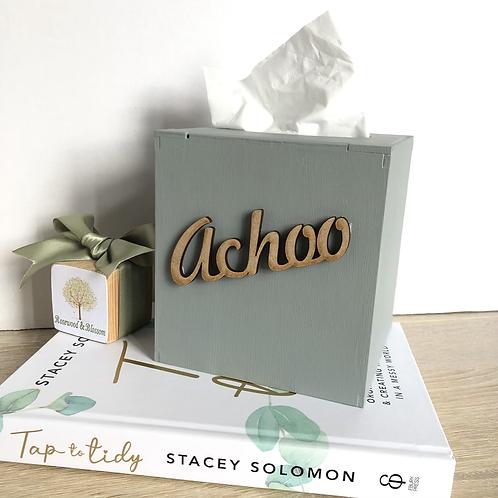 Achoo Tissue Box Cover