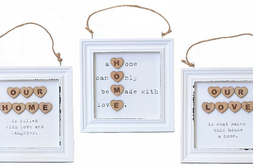 Home/Love Wall Plaque