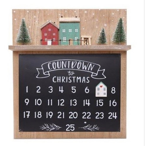 Countdown to Christmas Magnetic Advent Board