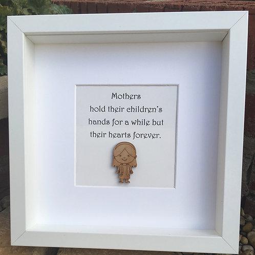 Mother / Mum Wooden Figure Frame
