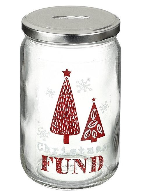 Christmas Tree Fund Saving Jar