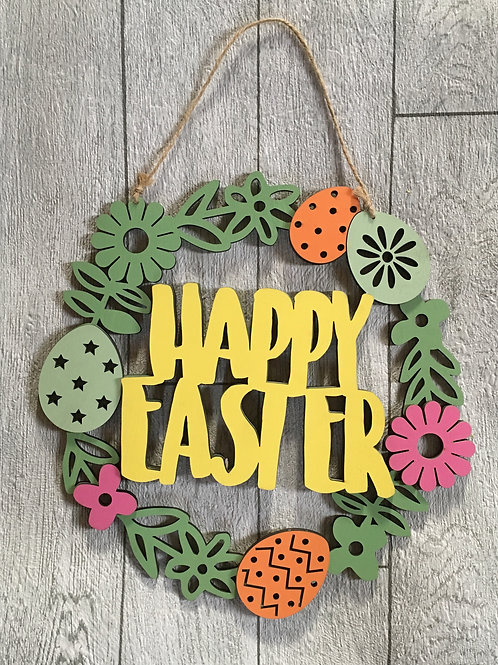 Easter Hanging Plaque