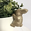 Thumbnail: Gold Bunny Rabbit Plant Pot Hugger