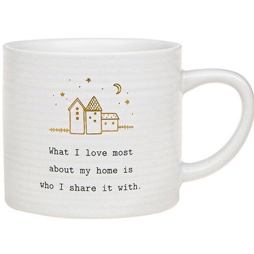 Thoughtful Words Mug - Home