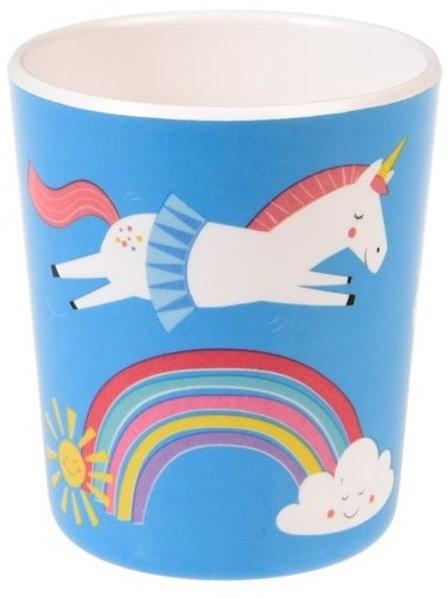 Unicorn Melamine Beaker