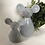 Thumbnail: Small Grey Ceramic Mouse