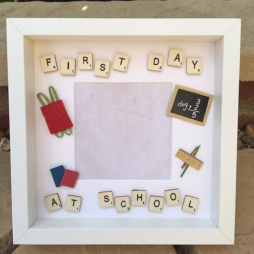 First Day at School Photo Frame