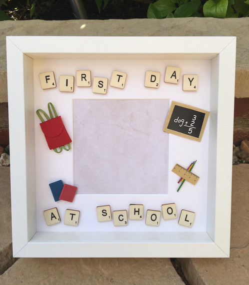 Furst Day at School Photo Frame
