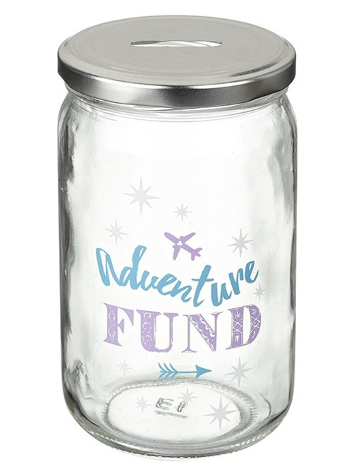 Adventure Fund Saving Jar