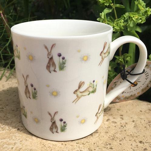 Bunny Rabbit Fine China Mug