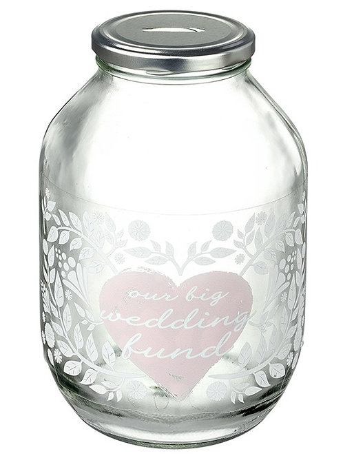 Wedding Saving Jar Large