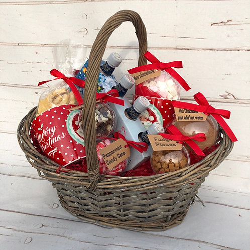 Hot Chocolate Bauble Gift Basket
