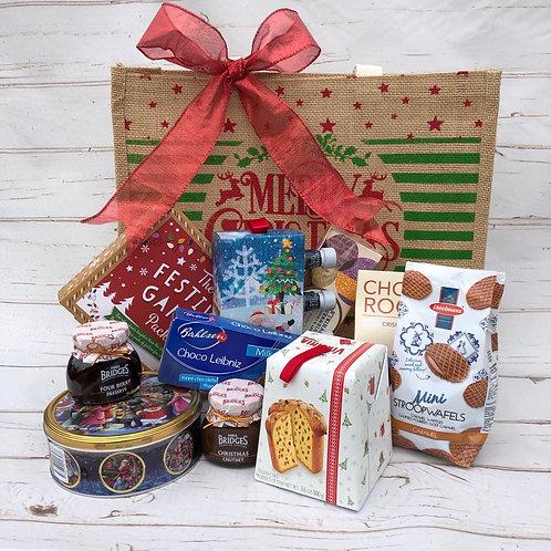 Festive Season Christmas Food Jute Bag