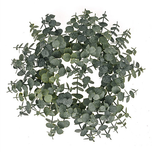 Artificial Eucalyptus Wreath 30cm