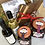 Thumbnail: Snowflake Cheese Board & Crackers Gift Hamper Bag