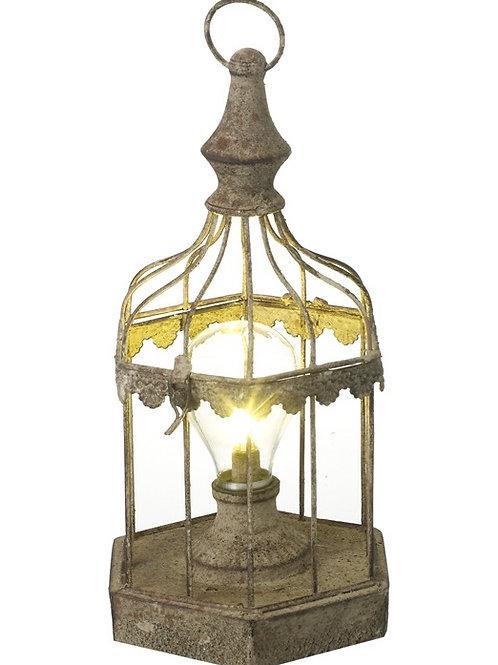 LED Birdcage Lantern