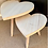 Thumbnail: Set of Natural Wooden Heart Stools
