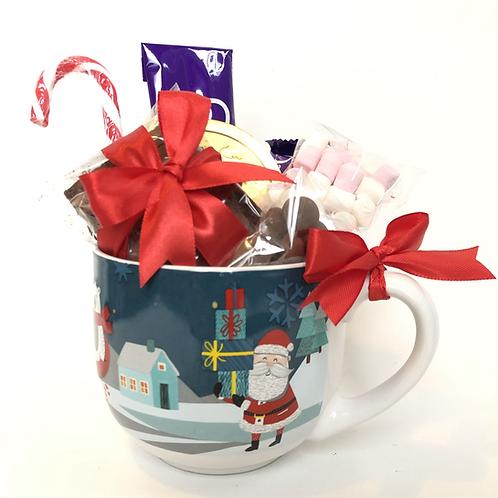 Hot Chocolate Lovers Christmas Mug Gift Set