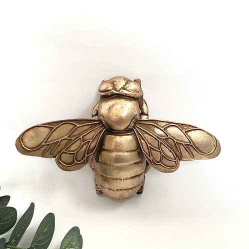 Rose Gold Bee Ornament