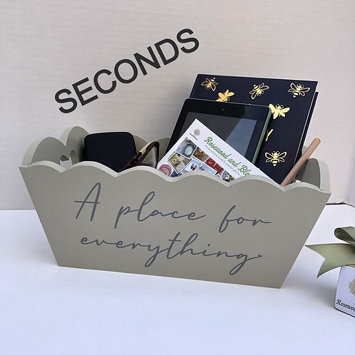 SECONDS A Place for Everything Crate