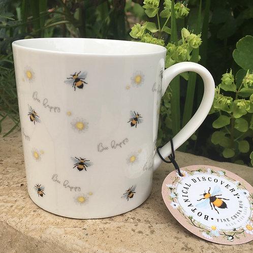 Bee and Daisy Mug