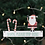 Thumbnail: Small Santa Please Stop Here hanging sign