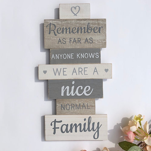 Remember Tiered Quote Plaque