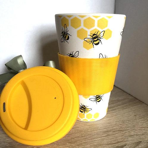 Bee Bmboo Travel Mug