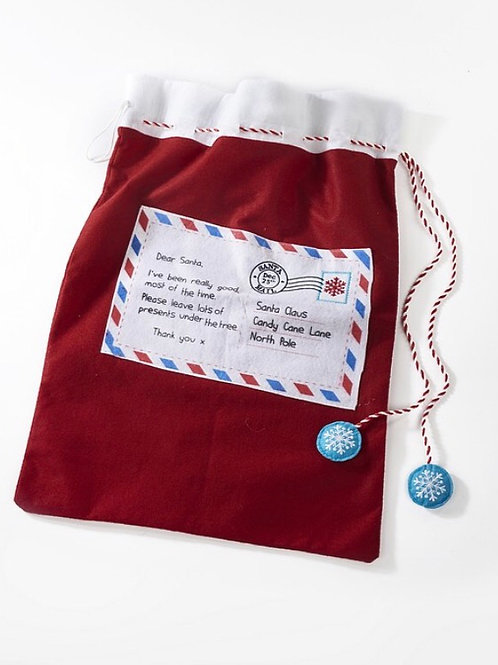 Christmas Letter to Santa Sack