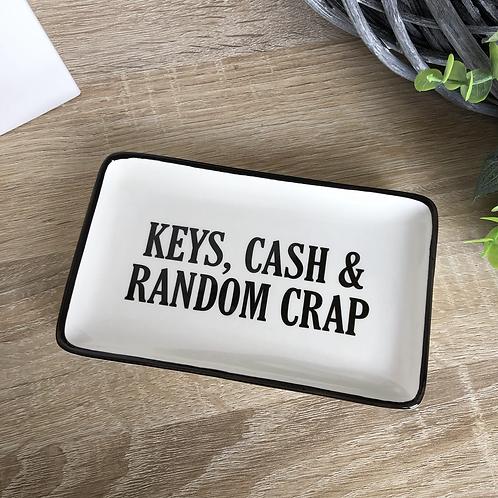 Keys, Cash and Random Crap Tray