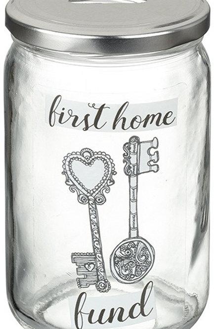 First Home Fund Saving Jar