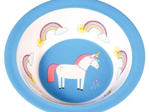 Unicorn Melamine Bowl