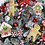 Thumbnail: Large Handmade Snowy Gingerbread and Candy Cane Wreath