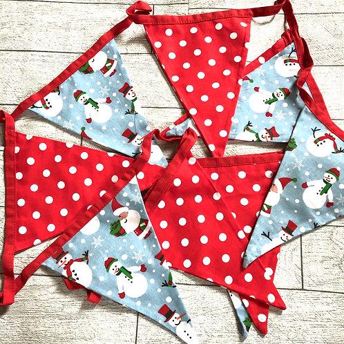 Christmas Fabric Bunting