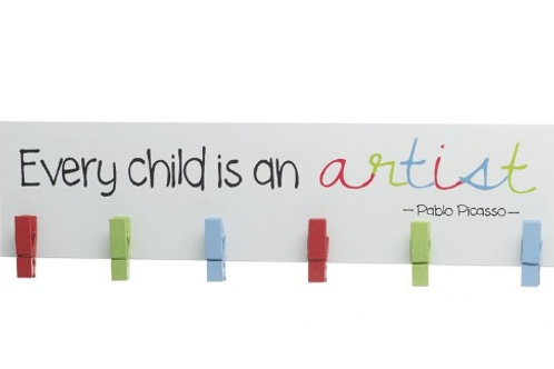 Every Child is an Artist Plaque