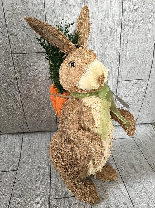 Easter Bunny Sisal Decoration