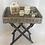Thumbnail: Rustic Wicker Tray Table