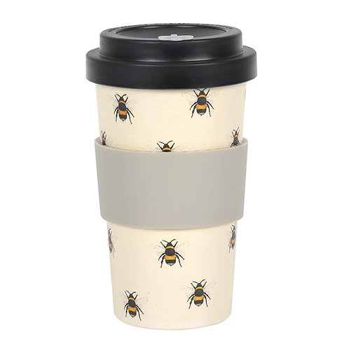 Bee Bamboo Travel Mug