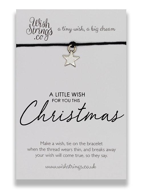 A Little Wish CHRISTMAS - WishStrings Wish Bracelet