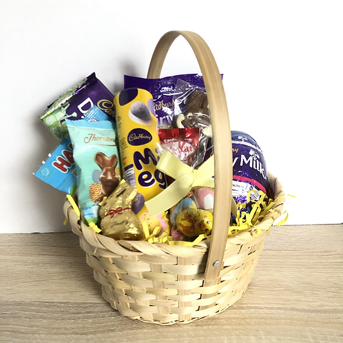 Easter Chocolate Gift Basket