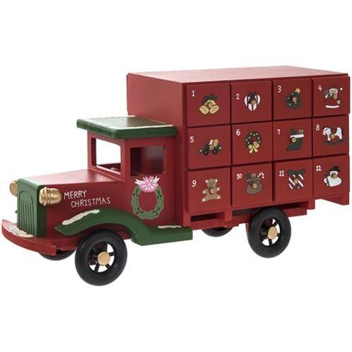 Wooden Truck Advent