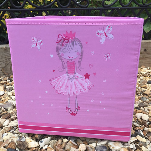 Girls Miss Angelic Cube Storage Box Small