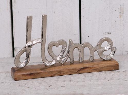 Silver Metal Home Ornament
