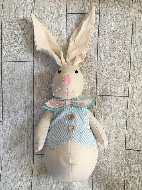 Cute Gentalmen Bunny Doorstop