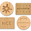 Thumbnail: Set of 4 Classic British Biscuit Coasters